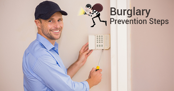 Burglary Prevention Steps