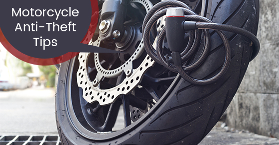 Motorcycle Anti-Theft Tips