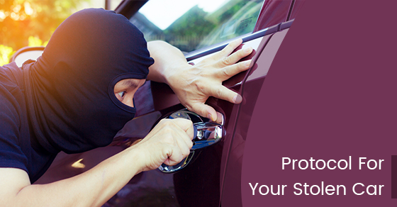 Protocol For Your Stolen Car