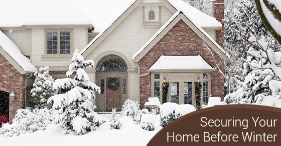Securing Your Home Before Winter