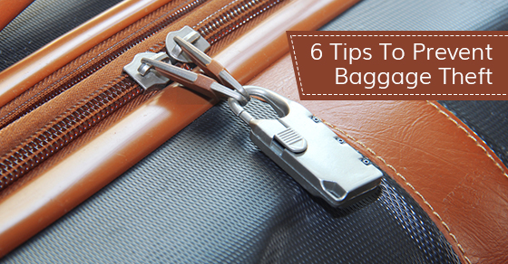 How To Prevent Baggage Theft